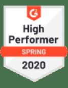 G2 Badge High Performer