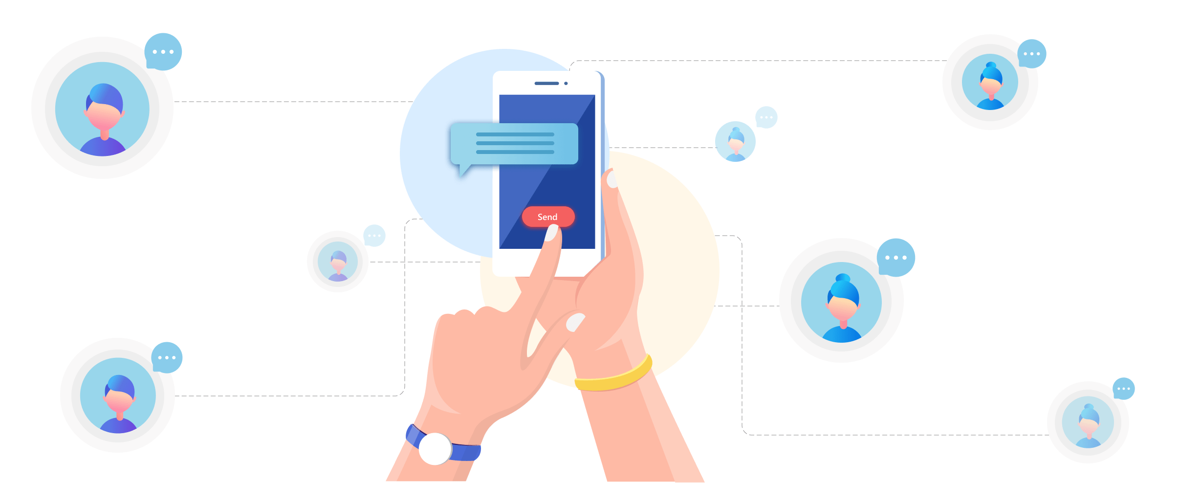 SMS-EMAIL-SUPPORT