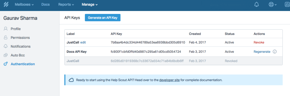 justcall-help-scout-copy-api-key