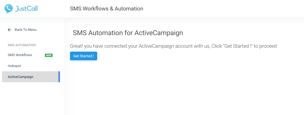 SMS Automation For ActiveCampaign
