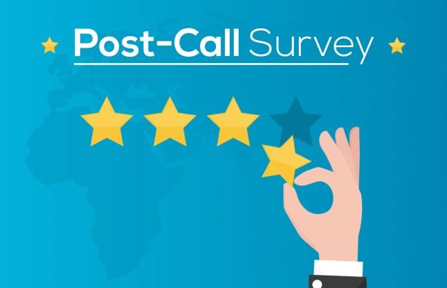 Post-Call Survey