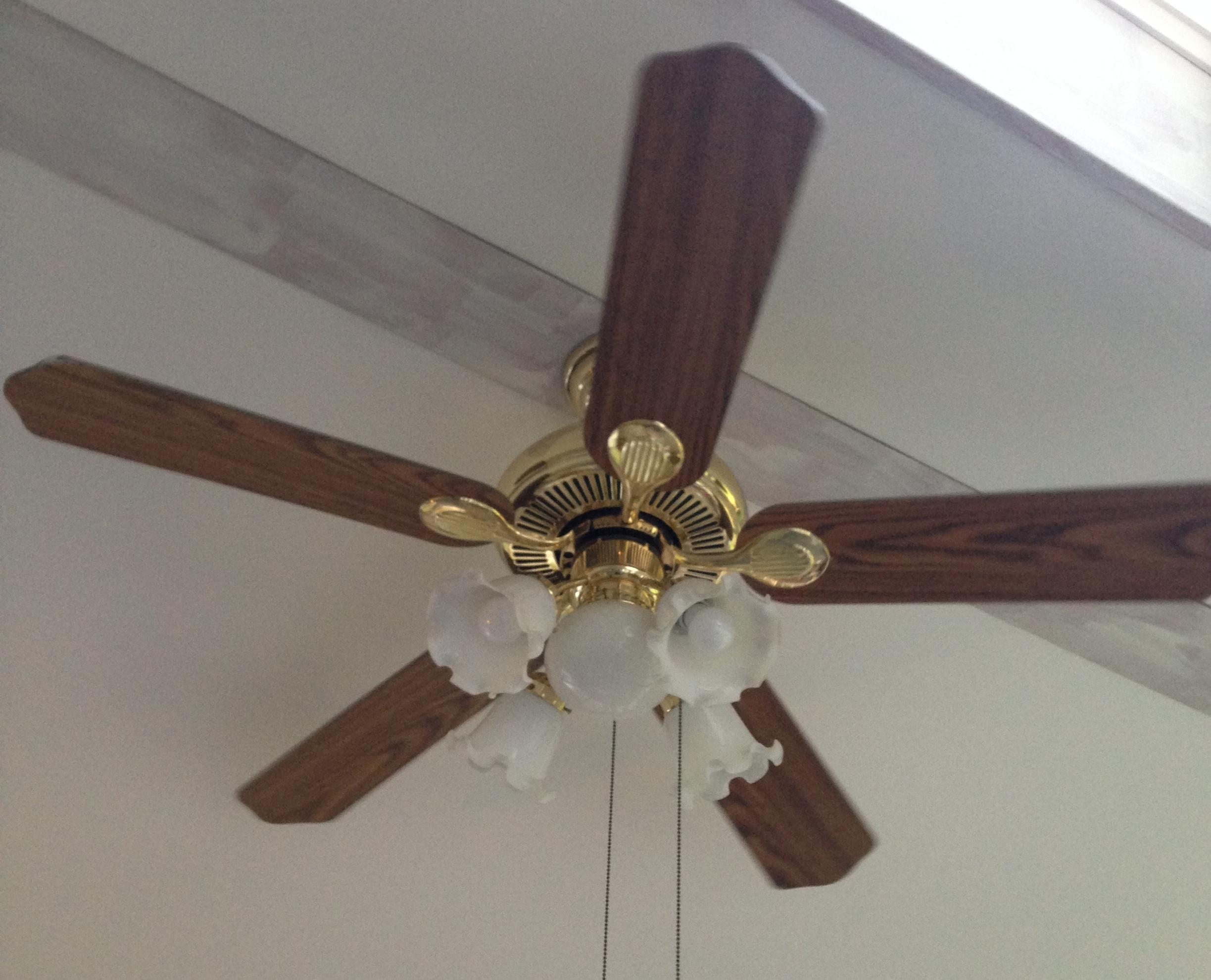 6 Dollar Ceiling Fan Update  Just Call Me Homegirl