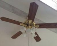 $6 Dollar Ceiling Fan Update - Just Call Me Homegirl
