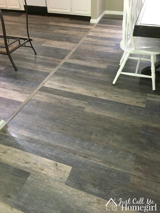 Cutting Vinyl Plank Flooring With A Saw