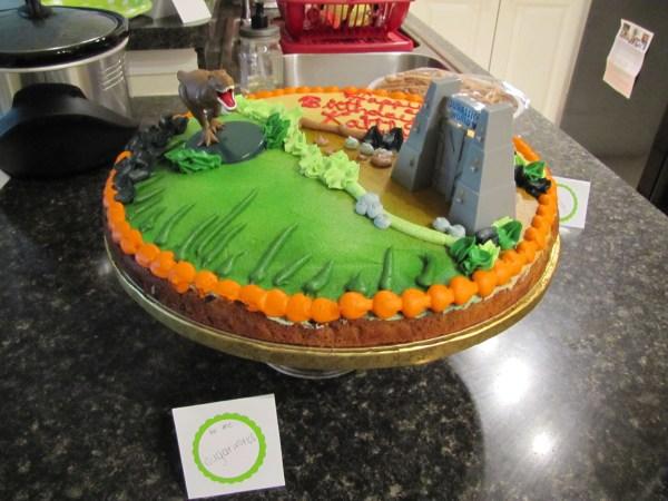 Jurassic World Birthday Cake Ideas