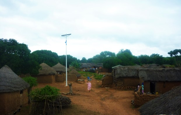 Ghana rural village