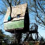 tree sparrow house cornwall exterior