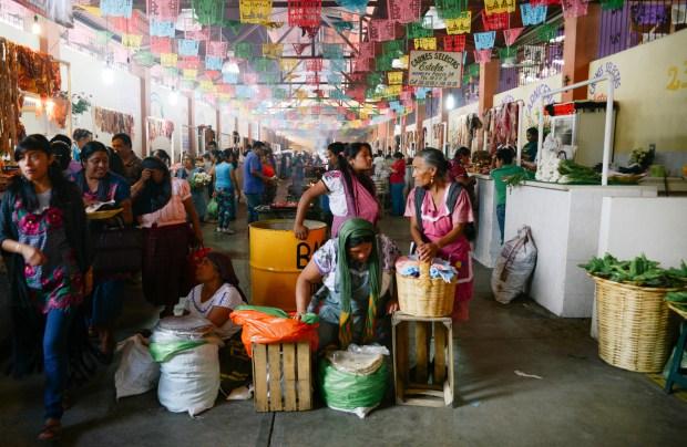 Oaxaca Benito Juarez market