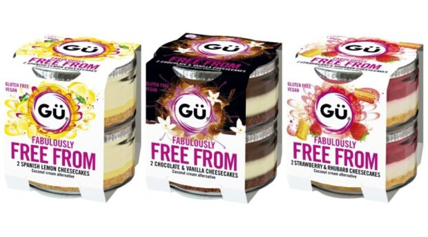 gu gluten free vegan cheesecakes
