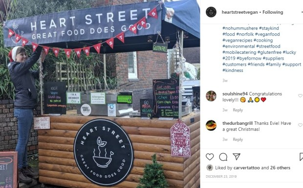 heart street vegan wedding catering