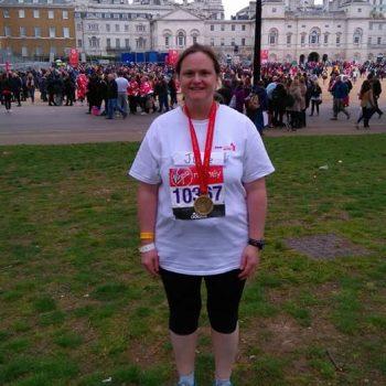 juliewetherelllondon marathon