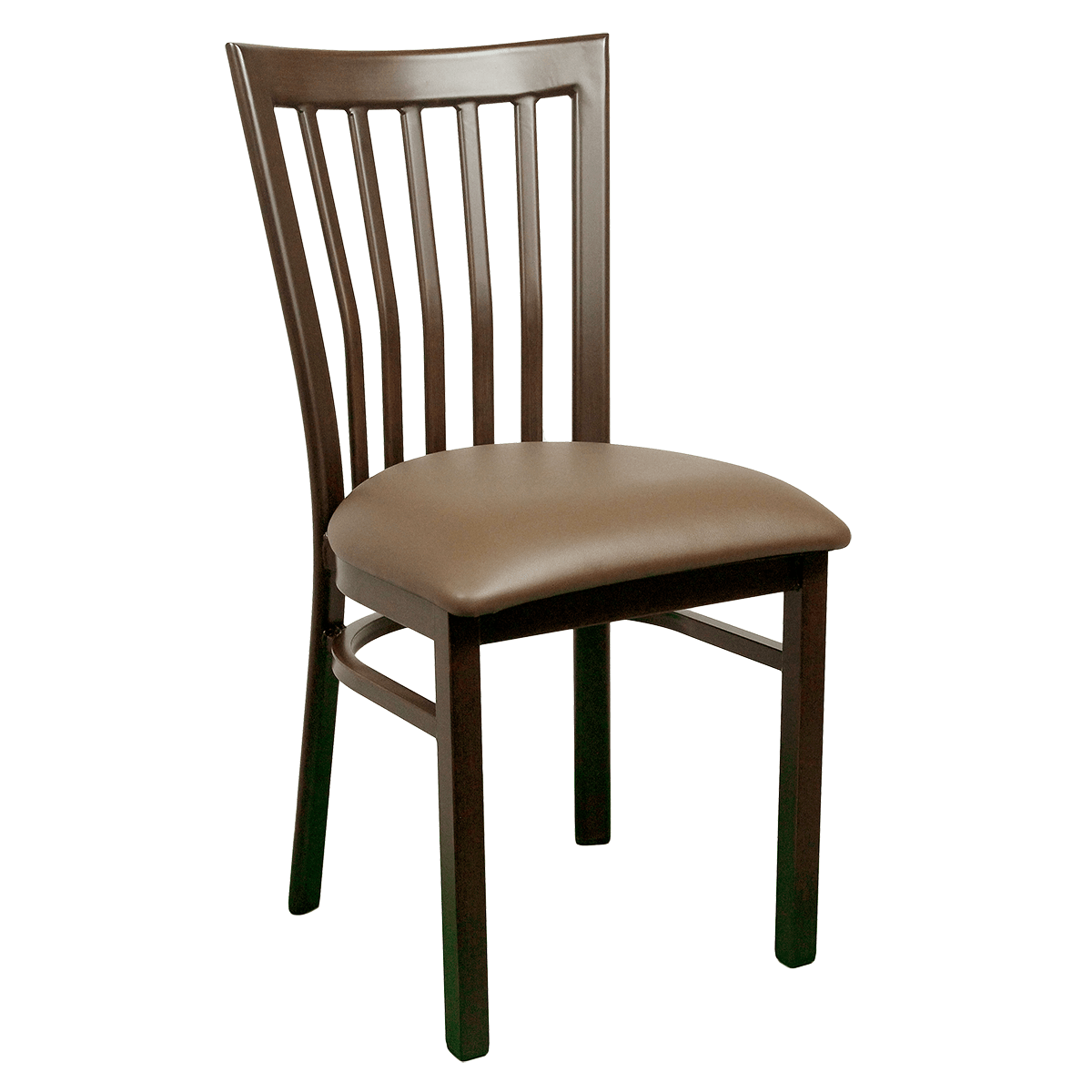 Metal Chair With Wood Seat Chairs Wood Look Metal Ladder Back Chair