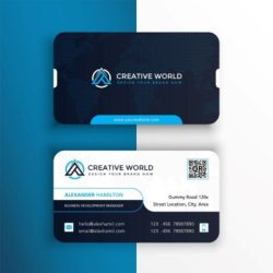 Business-Cards with round corners