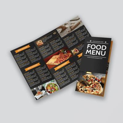 folded menu