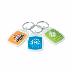 Recycled PFK Compact Keyring