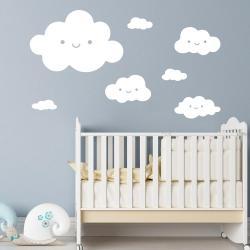 clouds wall art