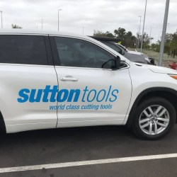 Vehicle Decals and Lettering