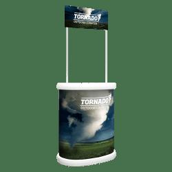 custom printed Outdoor Display Stand