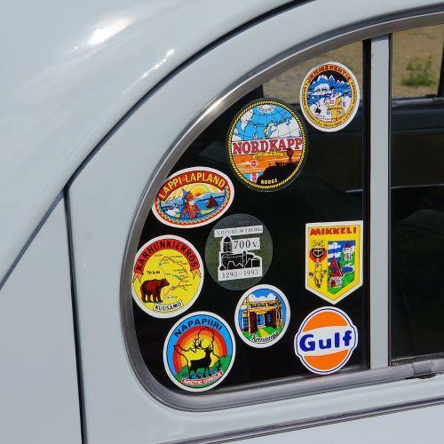 Vinyl Stickers cut to shape