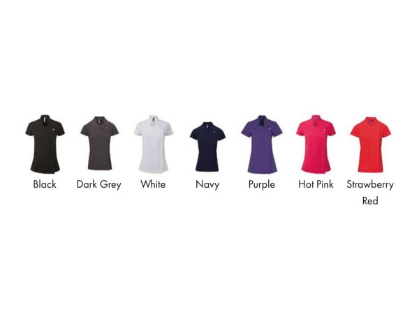 Blossom beauty and spa tunic colours