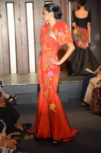 Gail at 19, modeling for Edgar Madamba in Manhattan.