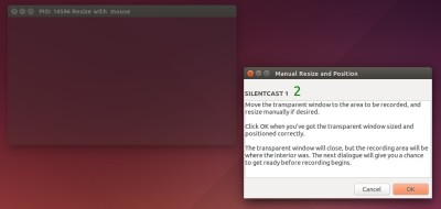 Ubuntu: 超赞的屏幕gif录制软件 Record Ubuntu Desktop in Animated GIF with Silentcast