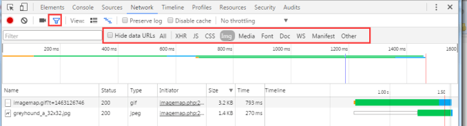 Chrome 开发工具 (Chrome Developer Tools):Network Panel说明