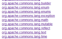JAVA:Apache Commons工具集简介, BeanUtils, FileUpload, IO, Validator, Compress
