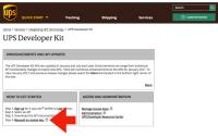 PHP: UPS API, UPS 运费计算, UPS接口