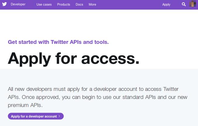 Twitter开放平台api key申请流程 (Twitter Consumer Key)