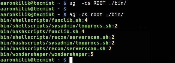 Silver Searcher - 程序员的代码搜索工具, 一个比ack速度快n倍的代码搜索工具: ag, A Code Searching Tool for Programmers