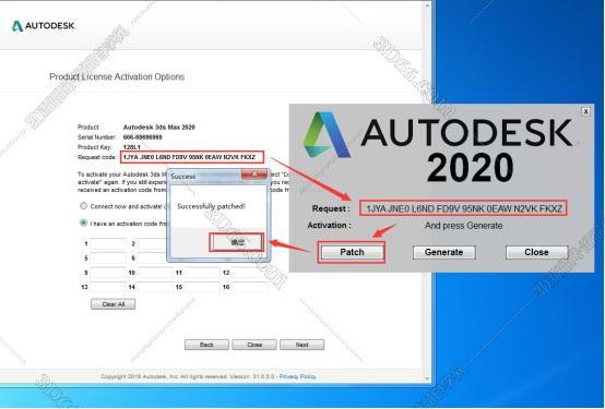 3DMax 2020 破解版:中文破解版, 安装图文教程, 破解注册方法, 3DMax中文破解