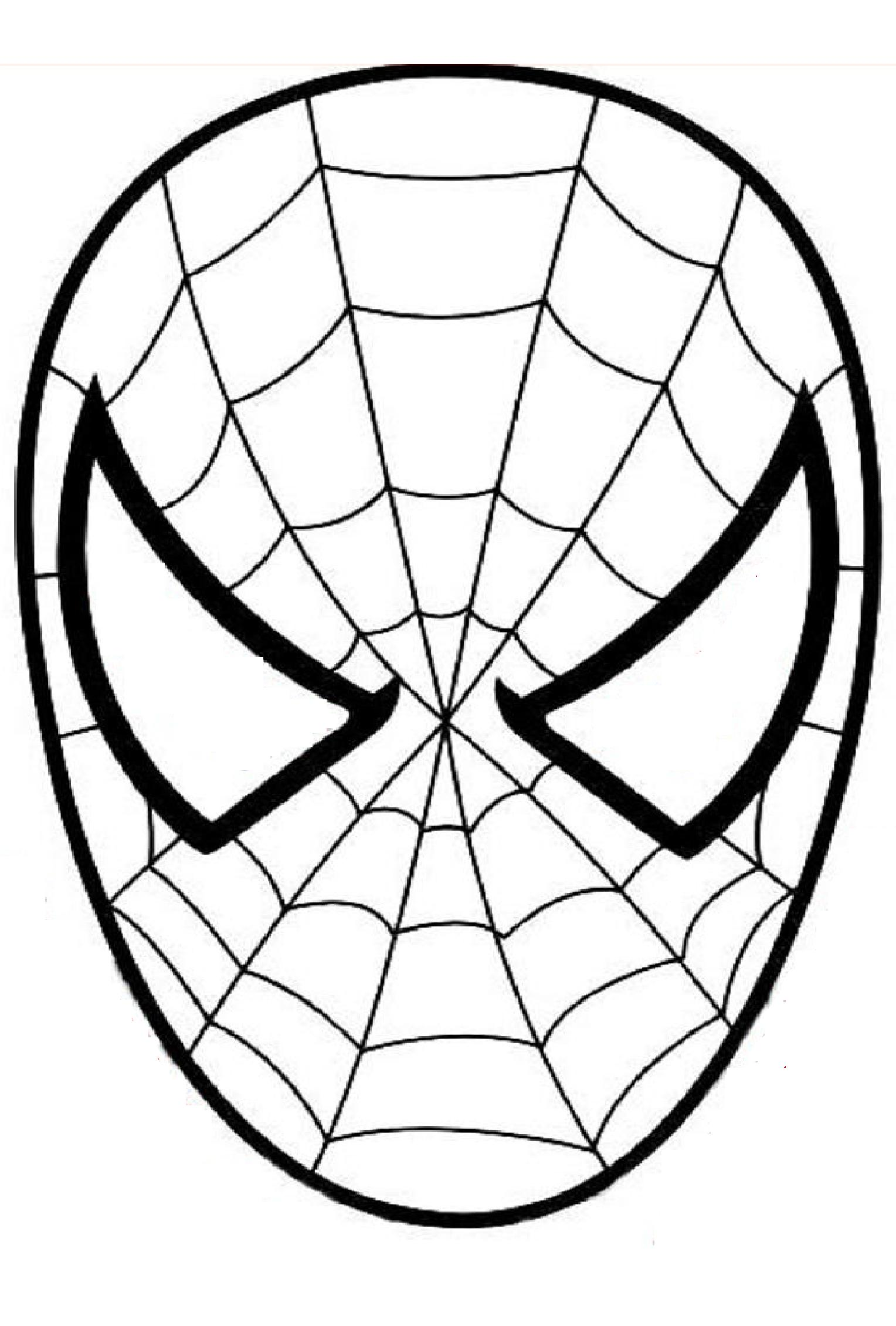 Easy Spiderman Coloring Pages : spiderman, coloring, pages, Spiderman, Print, Coloring, Pages