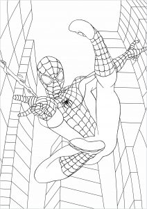 Spiderman Images To Color : spiderman, images, color, Spiderman, Printable, Coloring, Pages
