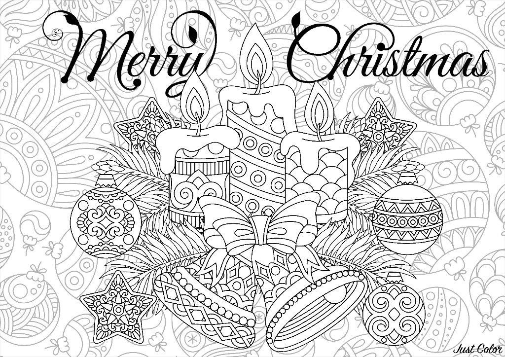 Cute Coloring Pages For Adults Christmas - Novocom.top