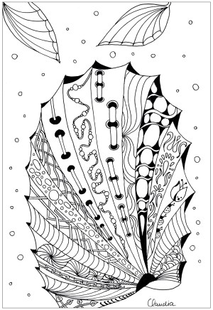 coloring zentangle simple adult drawing claudia pages adults zentangles incredible justcolor coloriage nggallery