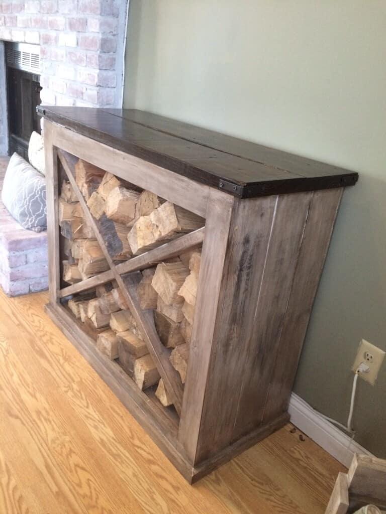 20 interesting indoor firewood storage