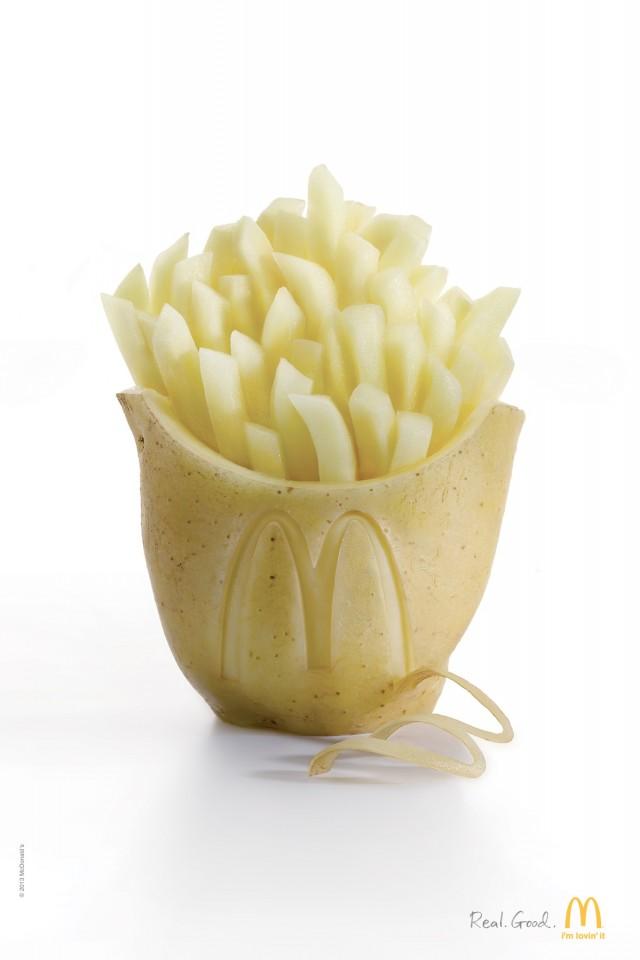 McDonalds Potatoes Ad