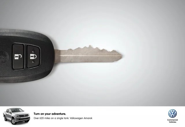 Volkswagen Car Key Ad