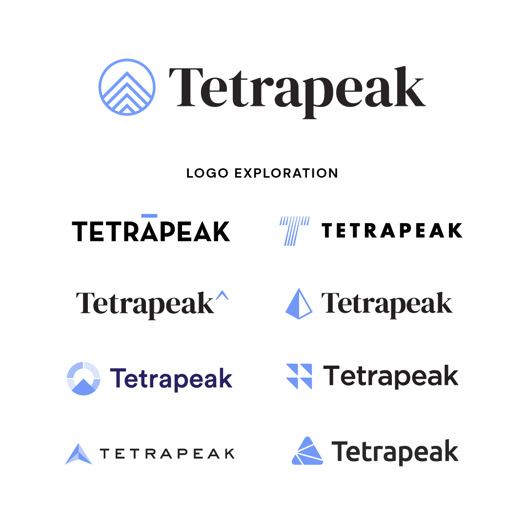 Branding for Tetrapeak Sales & Marketing Consulting Firm