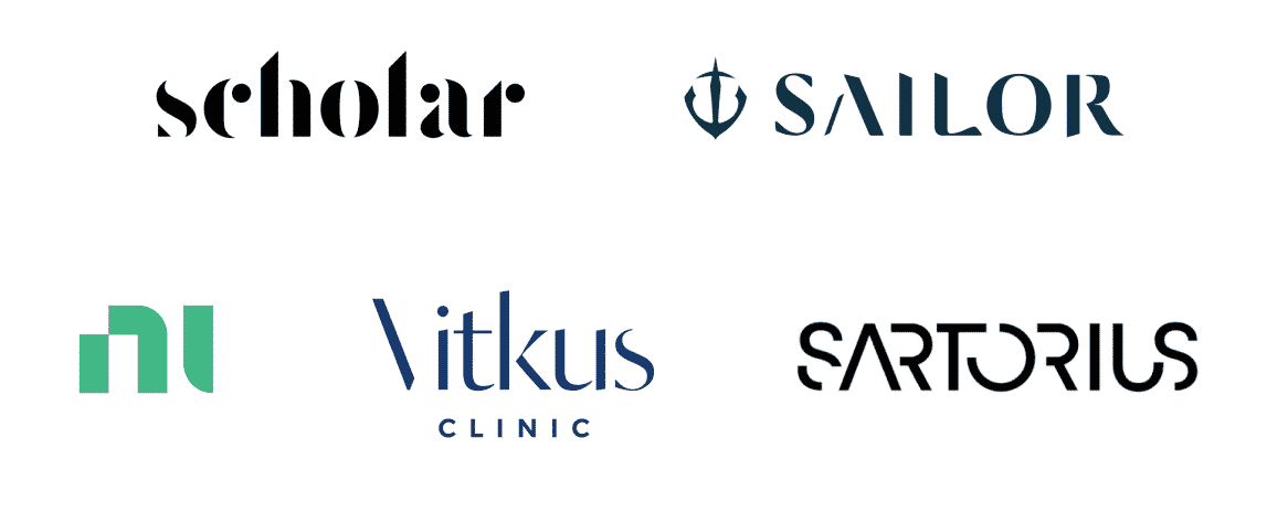 Logo Design Trends 2021 - Disappearing letters