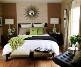 Contemporary layered bedding