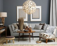 retro chic living room decor | just decorate!