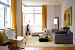 Modern Decor with Grey and Yellow