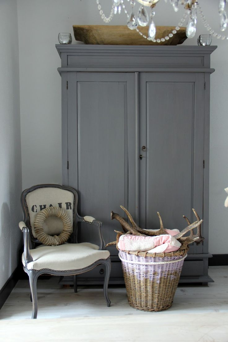 armoire grey chair  just decorate