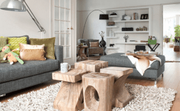 Coffee table pieces as art work - form and function