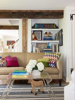 Arrange books in one area and stack
