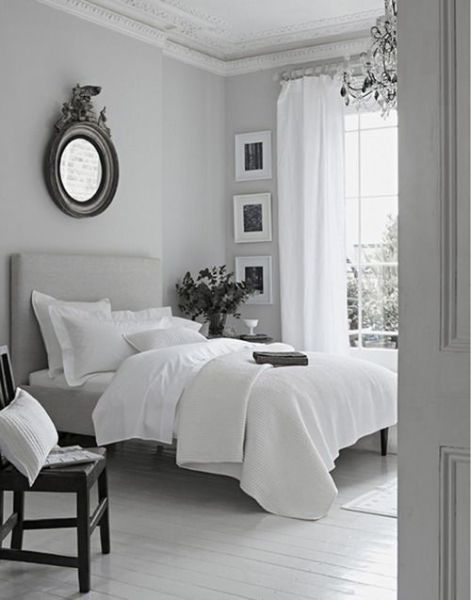grey and white contemporary bedroom peaceful grey white bedroom | just decorate!