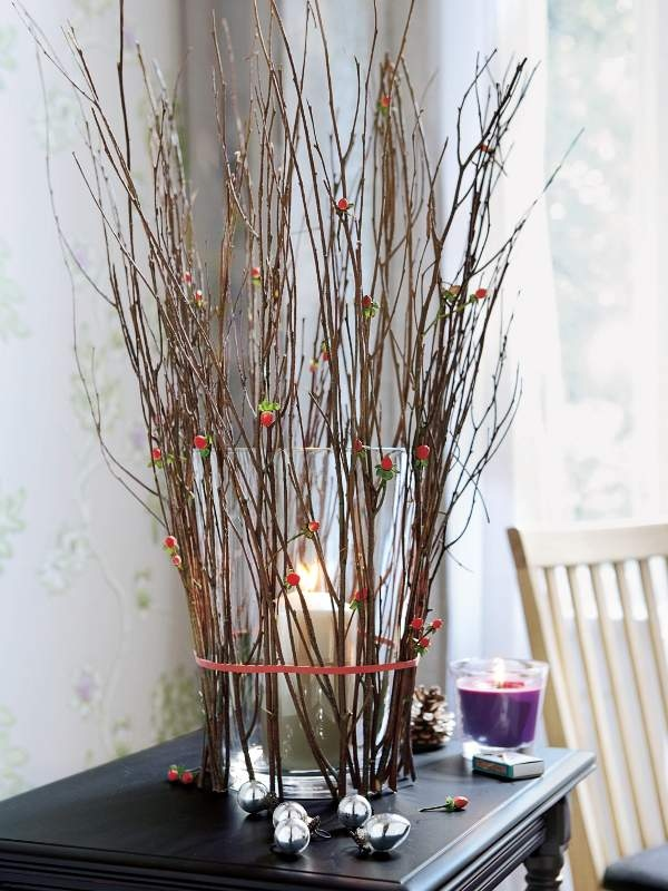 rustic decoratingwithbranches  just decorate