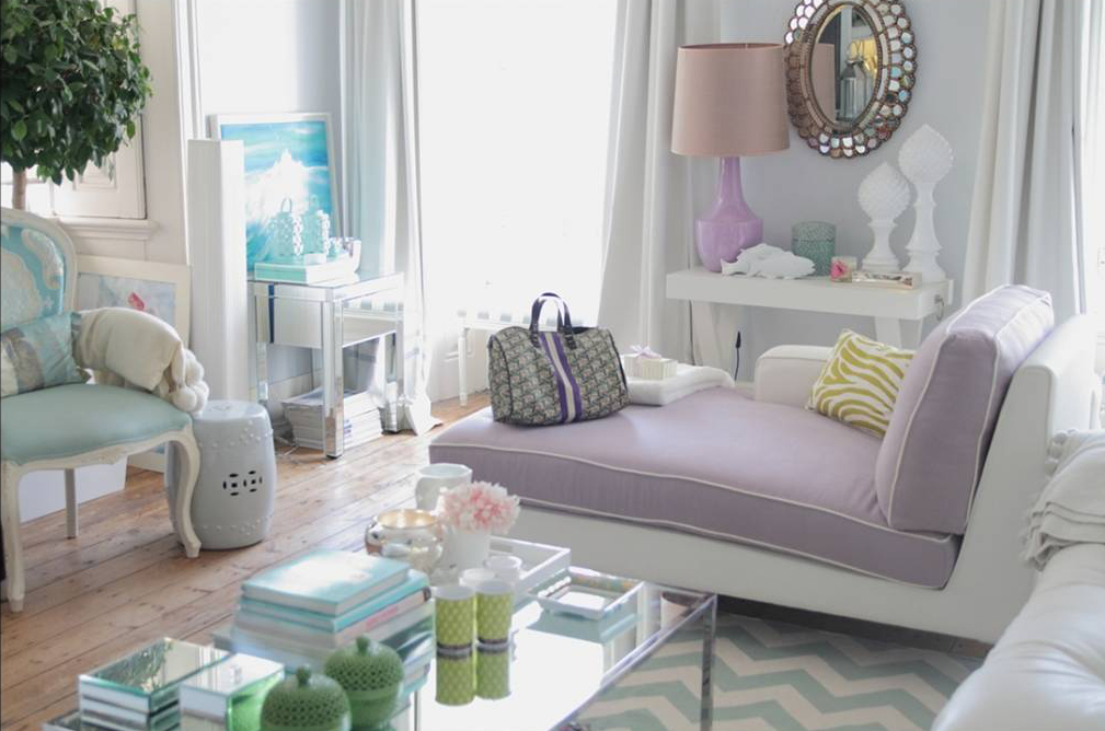 chaise in living room ottomans for pastel with jpg just decorate
